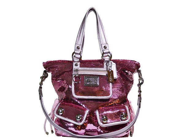 Want A Bag That Stands Out Then Check This Coach Poppy Collection Sequin Spotlight Handbag In Pink It S Definitely Statement Piece