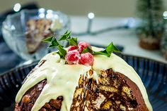 Recipe Christmas pudding fridge cake