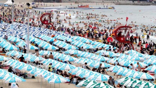 Ψήνεται από τον καύσωνα η Βόρεια Κορέα – Κόκκινη προειδοποίηση σε Ισπανία-Πορτογαλία-Ιταλία-Γαλλία-Γερμανία