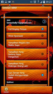 Download BBM MOD Wood Theme Versi 2.8.0.21 APK Terbaru