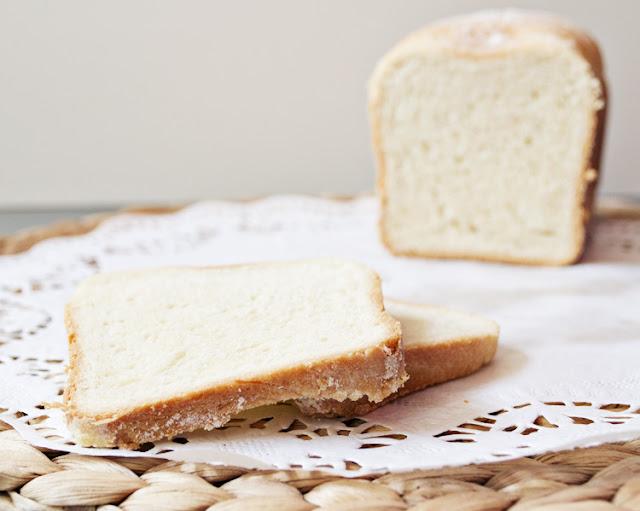 receta de pan de molde rápido