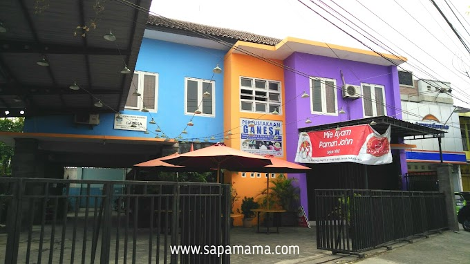 Rekomendasi Perpustakaan di Solo Raya : Perpustakaan Ganesa