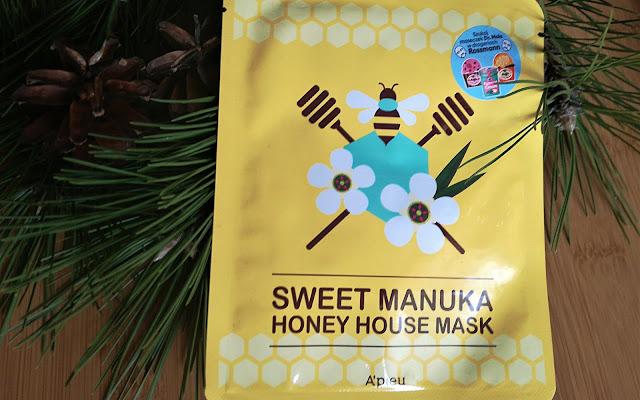 SWEET MANUKA HONEY HOUSE MASK - A'PIEU - Czytaj więcej
