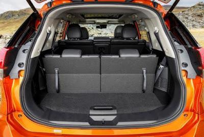 Coffre Nissan X-Trail avec 5 place