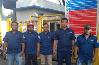 Briefing Tim Jemputan Karyawan Way Solution dengan Custumer