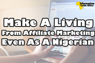 Affiliate marketing for Nigerians