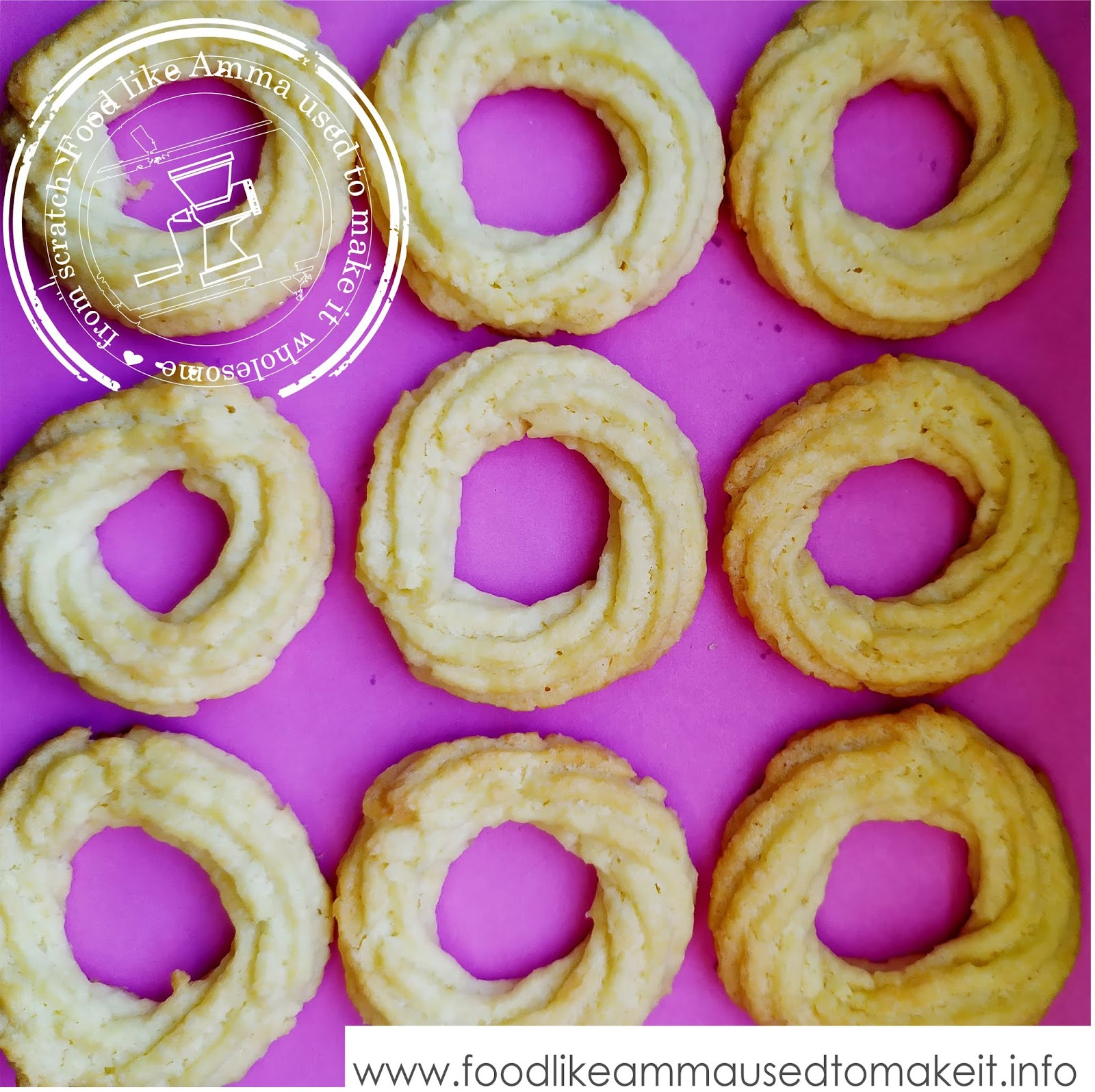 Danish Coconut Butter Cookies Recipe