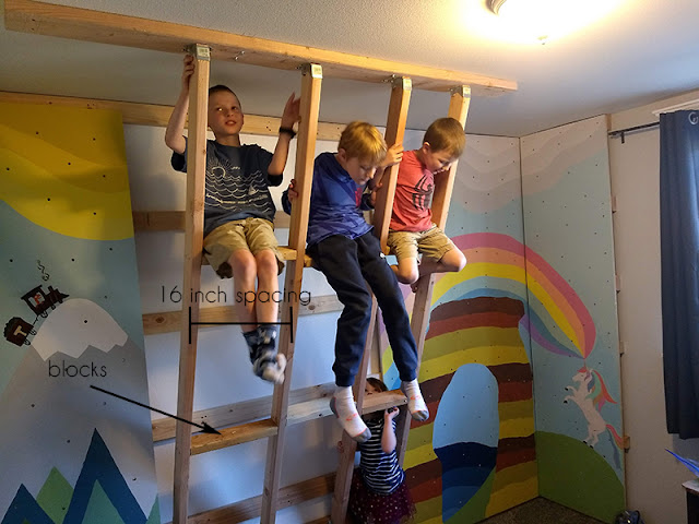 how to make a rock wall in kids room