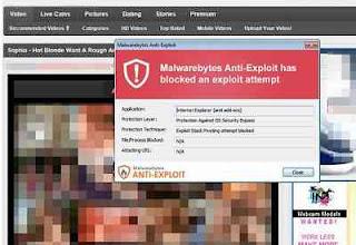 virus malvertising di situs dewasa