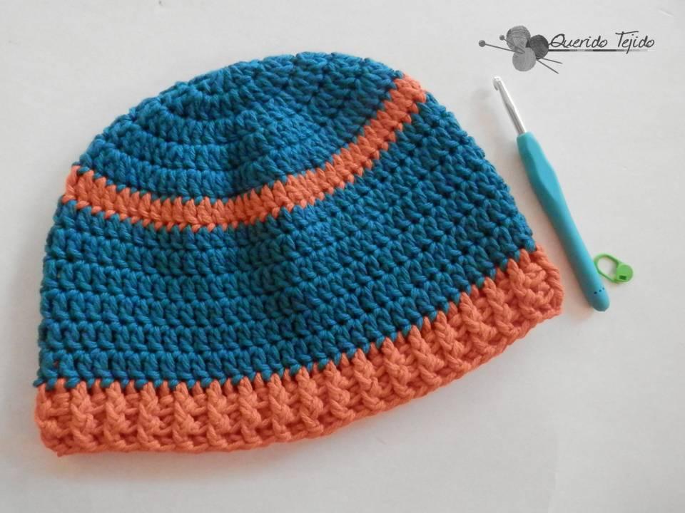 Querido Tejido: Gorro Básico a crochet