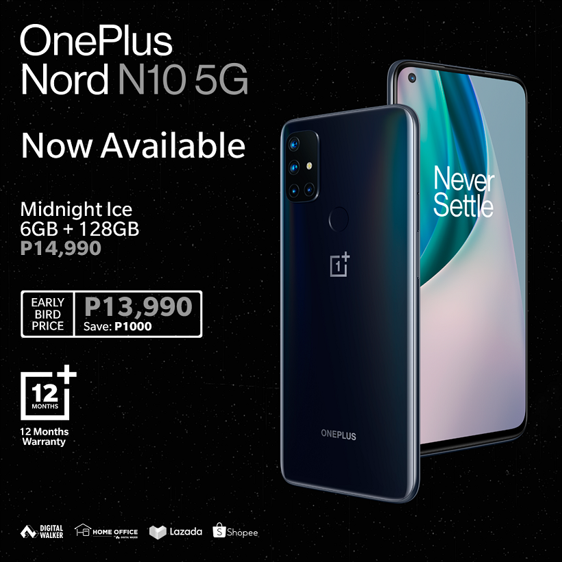 OnePlus N10 5G now available at Digital Walker