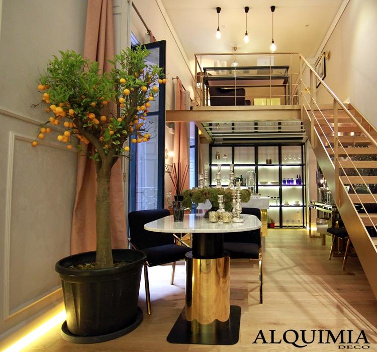 casa-decor-2016-madrid-limonero-diseño-interiorismo-mesa-dorada-planta