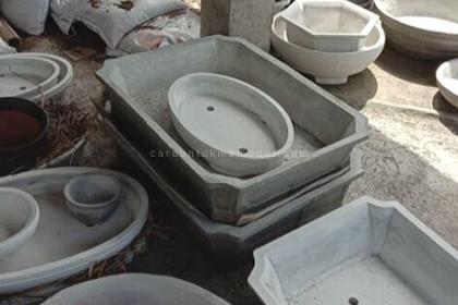 Cara Membuat Pot Bonsai Dari Semen Dengan Peralatan Sederhana