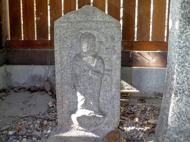 山型地蔵菩薩立像