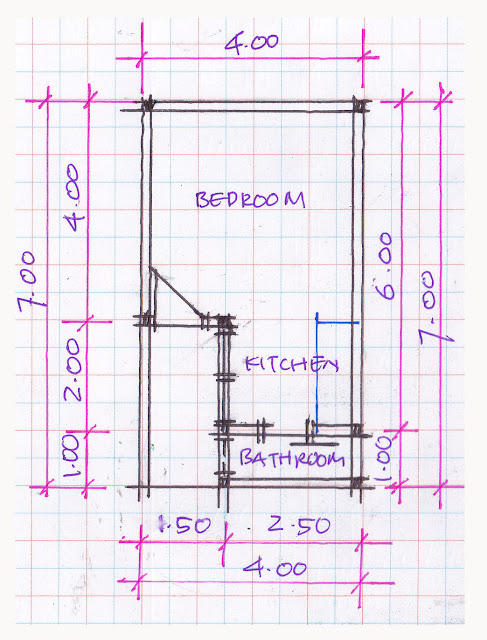 layout of house plan A-03b