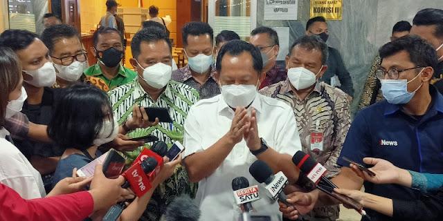 Tito Karnavian Cemas Pemilu 2024 Memanas, IPO: Cari-cari Alasan untuk Menunda Pilpres?