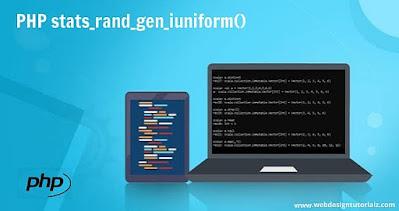 PHP stats_rand_gen_iuniform() Function