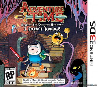 Adventure Time: Explore the Dungeon Because I Don't Know!, 3DS, Español, Mega