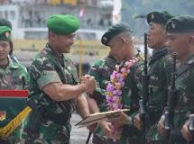 350 Prajurit Yonif Raider 712/Wiratama Kembali Operasi Dengan Prestasi Yang Gemilang