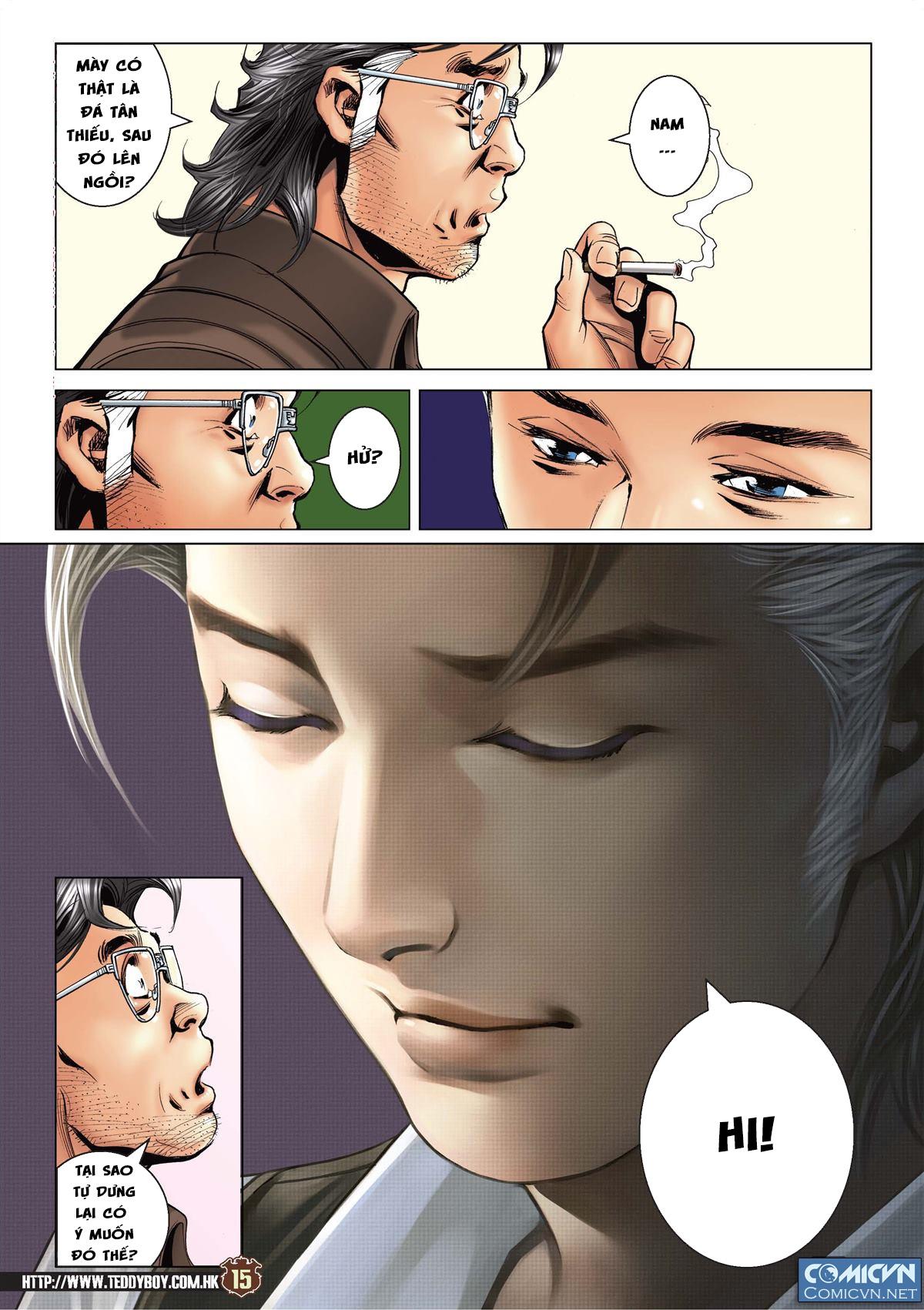 Người Trong Giang Hồ chapter 2113: cự tinh chi chiến trang 13