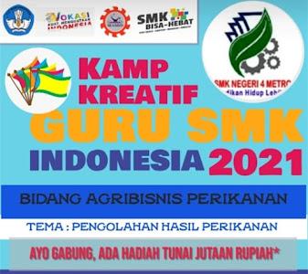 KKGS  Kamp Kreatif Guru SMK Indonesia 2021