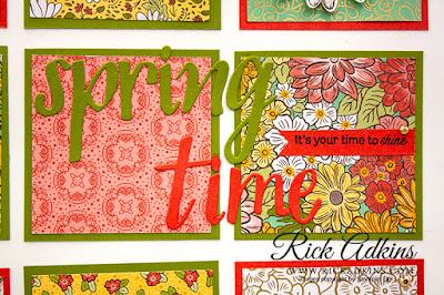 ornate garden specialty designer series paper, hand-lettered prose dies, rick adkins, stampin up