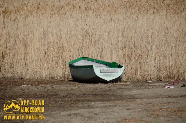 Boat - Prespa Lake - Oteshevo Beach