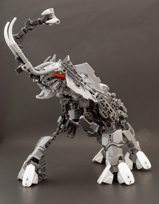 The Brickverse An Elephant Bionicle Style