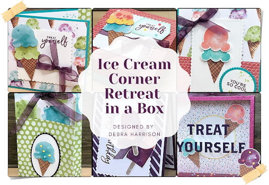 Fun retreat in a box with the Ice Cream Corner suite!