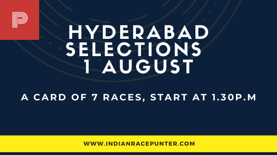 Hyderabad Race Selections 1 August