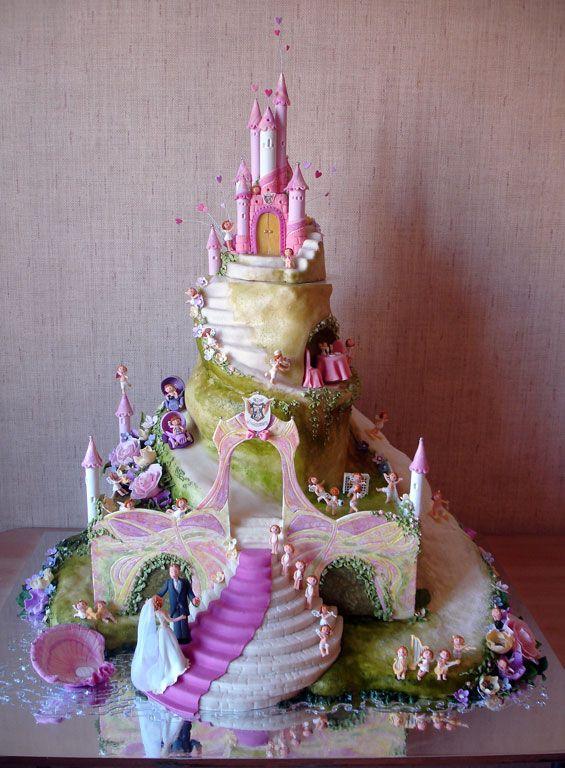 Gateau Chateau Princesse Cake