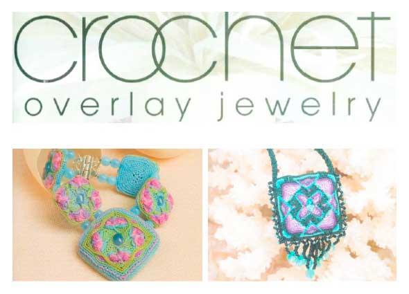 bisutería crochet, tejer crochetería, joyas tejidas