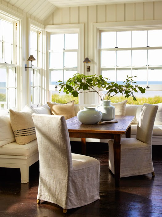 East Hampton dining room