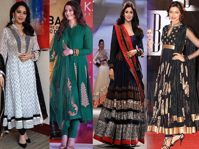 Anarkali dresses a favorite with Bollywood actresses - Kaseeshonline