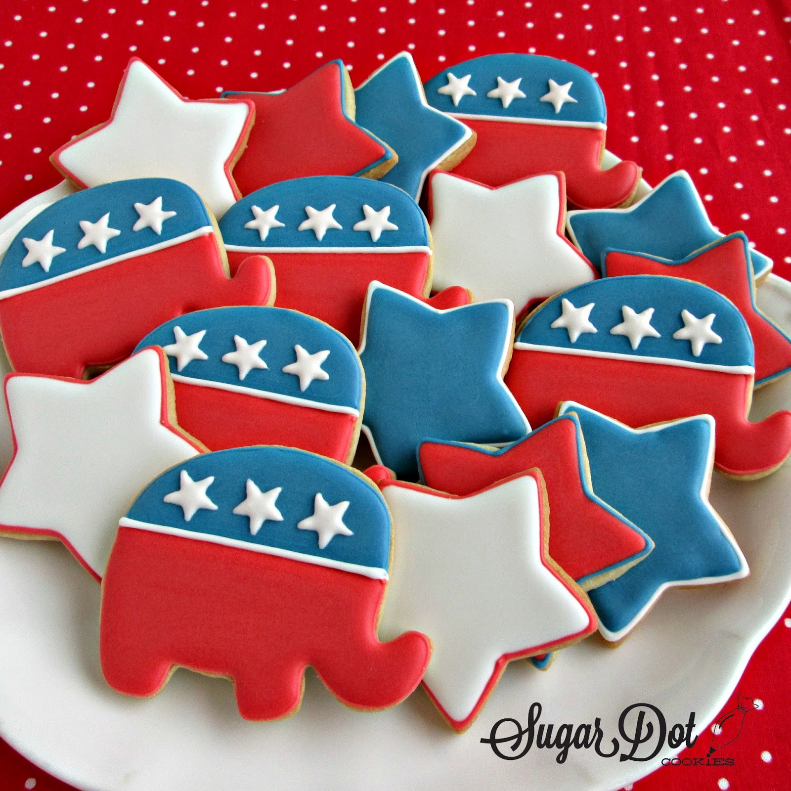These cookies were sent to Washington, DC for the swearing ...