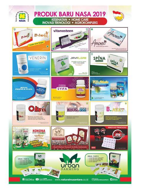 produk baru nasa 2019