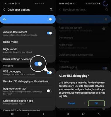 Cara Hapus Aplikasi Bawaan (Bloatware) Pada Samsung Galaxy S10 Tanpa Root