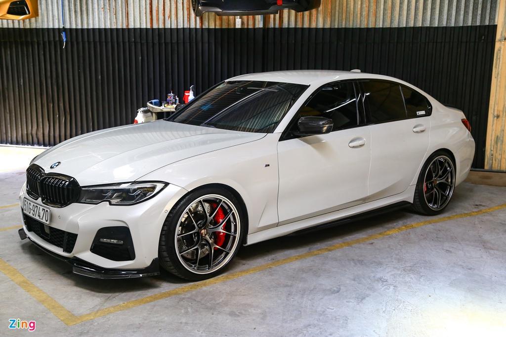 BMW G20 330i M Sport lột xác với gói độ 1 tỷ đồng tại TP.HCM