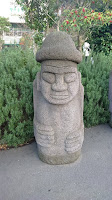 Stone Grandfather Statues (Harubang)