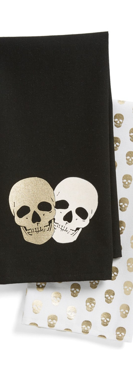 Levtex Skull Print Dish Towels (Set of 2)