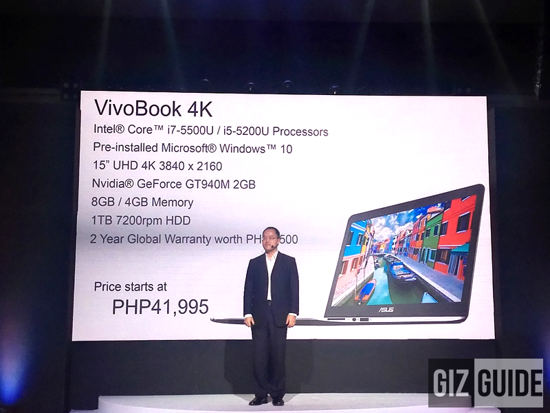What A Surprise, Asus VivoBook 4K Announced, Price Starts At Just 41995!