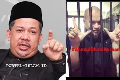 Fahri Hamzah: LAWAN KEZALIMAN !!! Ahmad Dhani Akan Jadi Martir Yang Menumbangkan Rezim