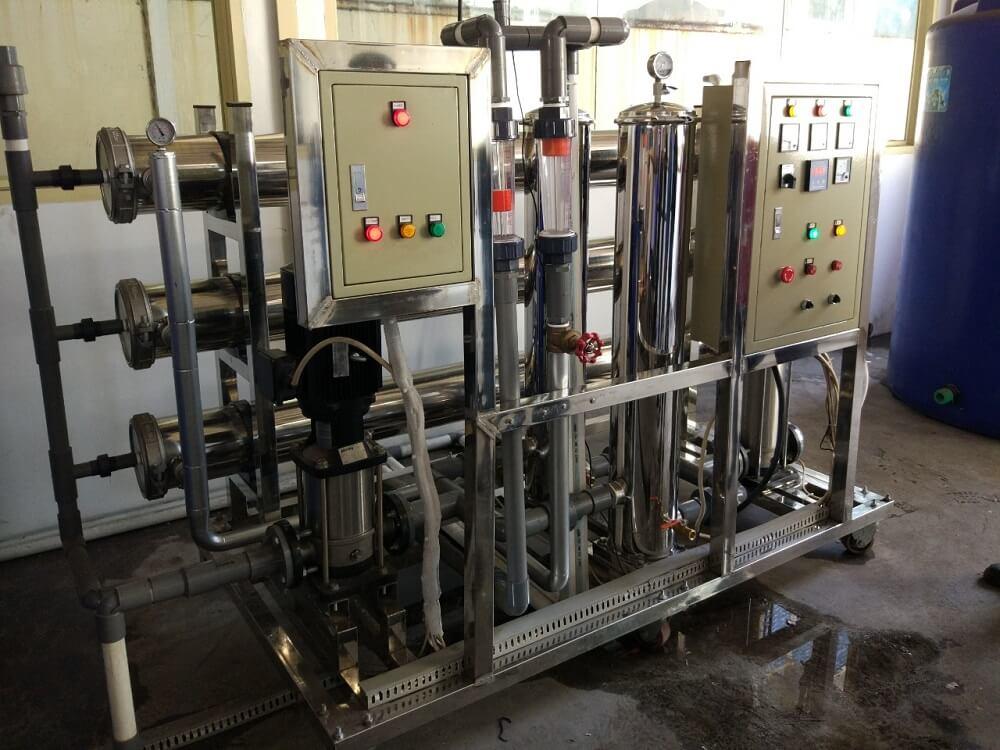 Mesin RO Rakitan dengan Panel Listrik