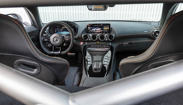 Interior Mercedes AMG GT Black Series