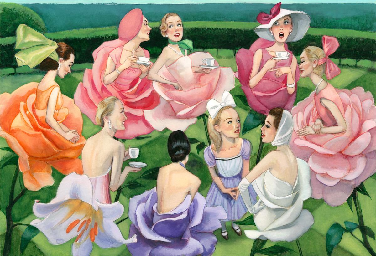 Fernando Vicente blog: El jardín de las flores del libro ...