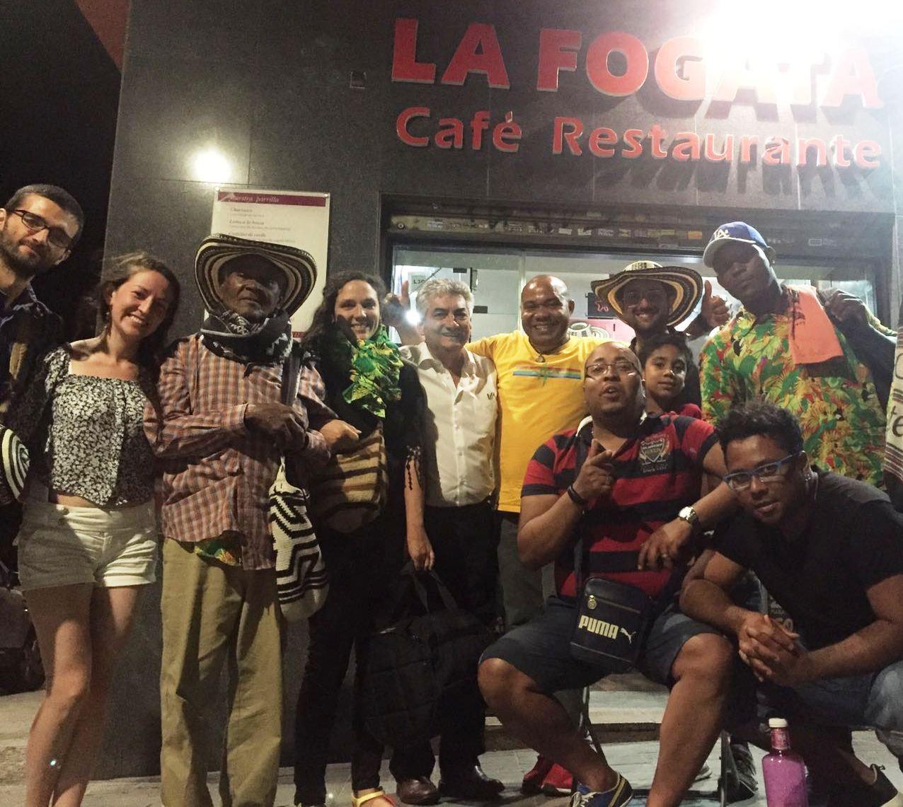 Colombianos en espa a semana de representaci n colombiana - Restaurante colombianos en madrid ...