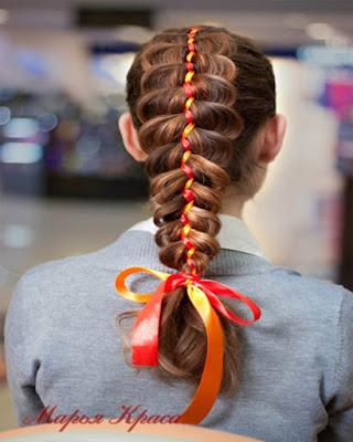 peinado con cabello suelto