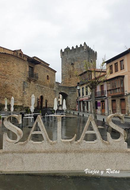Plaza del Ayuntamiento de Salas