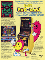 Flyer Baby Pac-Man de Bally