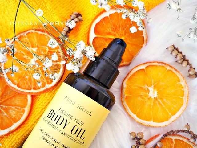 Combate la celulitis con Firming Yuzu Body Oil de Alma Secret